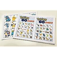 Rainbow Sensation Pokemon Go BINGO! Birthday Party Game Mystic Valor Pikachu 20 40 Players