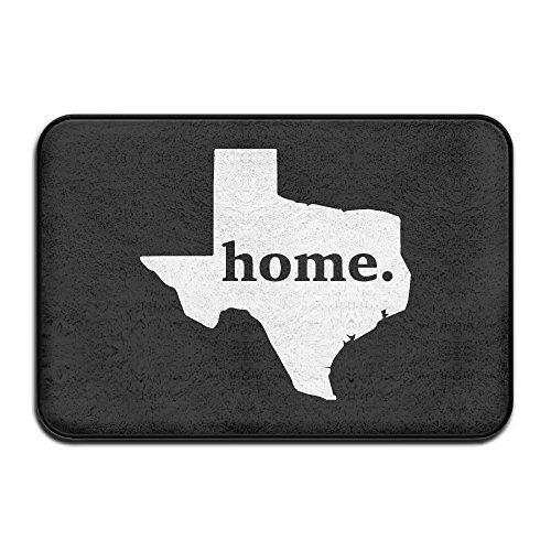 Home Texas Map Personalisierte Fußmatten - Personalisierte State Map