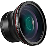 Neewer 52MM 0.43X HD Wide Angle Lens With Macro Close-Up Portion Lens No Distortion Digital High Definition For Nikon D7100 D7000 D5200 D5100 D5000 D3300 D3200 D3000 D90 D80 DSLR Cameras
