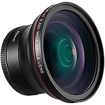 Neewer 52MM 0,43X HD Lente Gran Angular con Macro Lente de Porciones Primer Plano Alta Definicción para Nikon D7100 D7000 D5200 D5100 D5000 D3300 D3200 D3000 D90 D80 Cámaras DSLR
