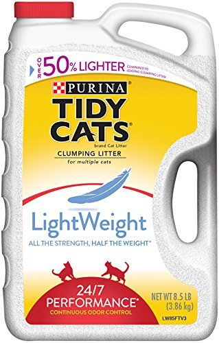 tidy-cats-cat-litter-clumping-24-7-performance-lightweight-85-pound-jug-by-tidy-cat-scoop