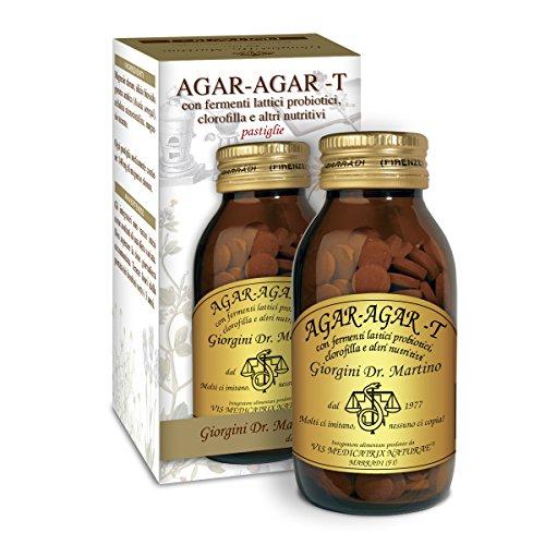 AGAR-AGAR-T mit Milchfermenten und Chlorophyll 180 Tabletten -