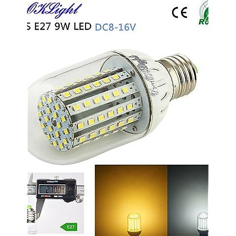 TJDlight E27 18W LED luce di Acquario 18x1W scogliera di corallo bianco blu pesce serbatoio stagno crescere vegetali lampadina di illuminazione lampada