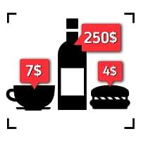 Wine price scanner