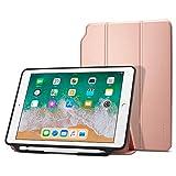 spigen iPad 9.7 Pulgadas 2018/2017 Funda, Smart Fold 2 diseñado para iPad 9.7 Pulgadas, iPad 9.7 Pulgadas Case Cover - Oro Rosa