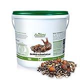 AniForte Garden Eichhörnchenfutter, 2kg- versch. Größen- Naturprodukt für Eichhörnchen und Streifenhörnchen