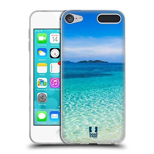 Head Case Designs Tropischer Sandstrand Wundevolle Strände Soft Gel Hülle für Apple iPod Touch 6G 6th Gen - Mp3-player Ipod 64gb Touch Apple
