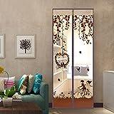 jia-jv-god Sommer - moskitonetz Fliegengitter für Fenster, Schlafzimmer einfache verschlüsselung Klett die Tür - Netz-B-140x220cm(55x87inch)