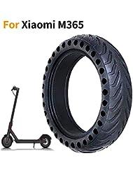 EMEBAY - Roue de pneu Cellulaire 8,5 pouces Pneu de rechange solide 8 1/2X2 pour avant/arrière de Pneu Xiaomi Mijia M365 Scooter électrique Skate/Bonne absorption des chocs/Bruit faible/Plus léger
