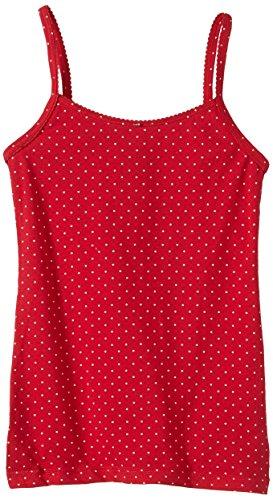 Schiesser Mädchen Unterhemd Spaghetti Top, (rot 500), (Herstellergröße: 164)