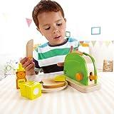 Hape Pop Up Toaster Kinder Küchenspielzeug für Kaufladen Kinderküche Spielküche Rollenspiele