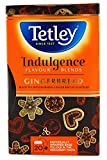 Tetley Indulgence Flavour Blends Gingerbread - 20 Individually Wrapped Bags (1 Box)