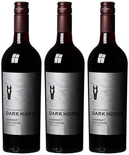 Darkhorse Cabernet Sauvignon Ernest und Julio Gallo 2015/2016 Trocken (3 x 0.75 l)