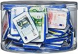 Schokoladengeld: Banknoten aus Schokolade, 1000g Dose mit ca. 80 Geldscheinen