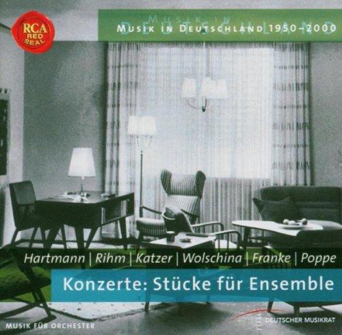 Musik in Deutschland 1950-2000. Konzerte: Stücke für Ensemble Puppe, Flöte