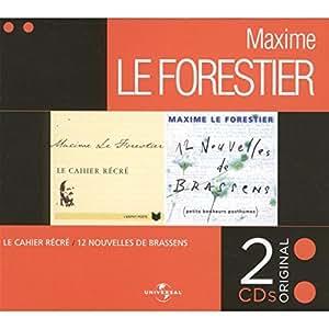 Coffret 2 CD : Le Cahier récré1 / 12 Nouvelles de Brassens