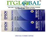 #8: Epson LQ 50 / LX 50 [Pack of 2] Original Ribbon Cartridge--Special ITGLOBAL Combo With Scratch & Win Reward Offer - From ITGLOBAL