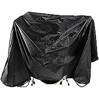 Neewer® Schwarz 80 x 108 Zoll Schlagzeug Staubschutz wasserabweisendem Nylon-Abdeckung mit Eingenähter gewichteten in den Ecken