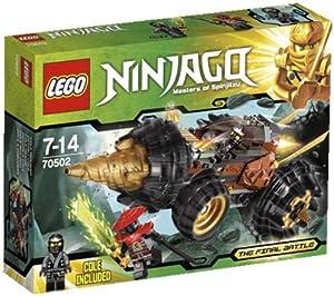 LEGO Ninjago - Playthemes - Cole's Earth Driller - 70502 70502 (Lord Garmadon's swordsman has stolen the elemental earth blade from Cole… )