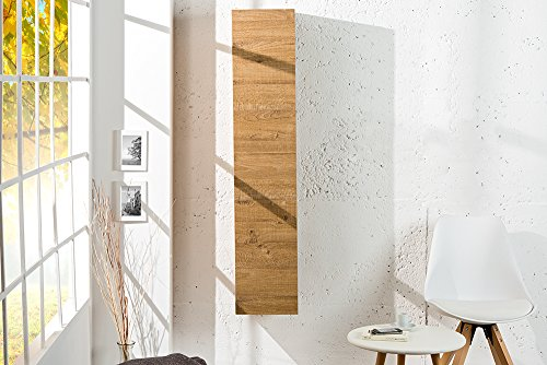 Moderner Design CUBE Eiche natur Wandregal Hängeschrank made in Italy - 4