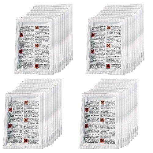 spares2go Entkalker/Entfetter für Geschirrspüler & Waschmaschine (40Stück x 50g) -