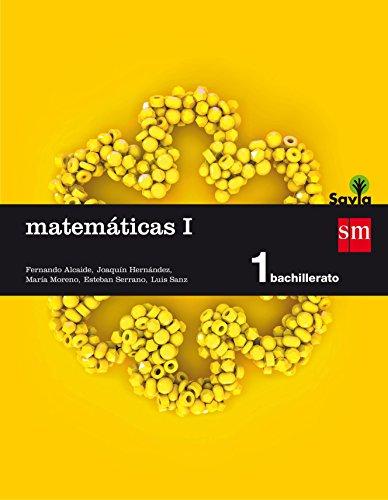 Matemáticas I 1 Bachillerato Savia