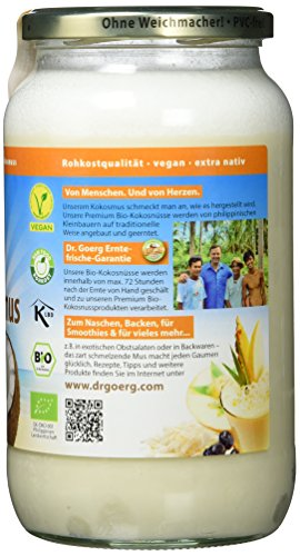 Dr. Goerg Premium Bio-Kokosmus, 1er Pack (1 x 1 kg) - 3