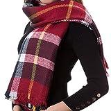 Descrizione Resta caldo e continua ad essere elegante tutto l'inverno con questa favolosa sciarpa! Versatile & Moda Questa sciarpa quadrata può essere piegata a triangolo e avvolta intorno al collo, abbinandola a molti abiti diversi per l...