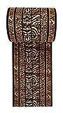 """Alfombra de pasillo a medida - Moderna Animal - Cocina Pasillo Sala De Estar Dormitorio - Colección """" VERONA """" de Carpeto - Negro Beige 80 x 300 cm"""