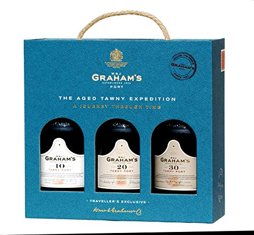 Grahams the aged tawny Expedition, 3 X 0,20 L tawny Portwein je 1 X 10 Years, 20 Years, 30 Years old