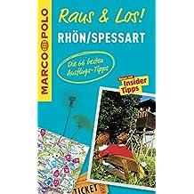 MARCO POLO Raus & Los! Rhön, Spessart: Guide und große Erlebnis-Karte in praktischer Schutzhülle