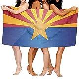 Best Camping Arizonas - LUOL Customize Beach Towel Flag Of Arizona Eco-Friendly Review