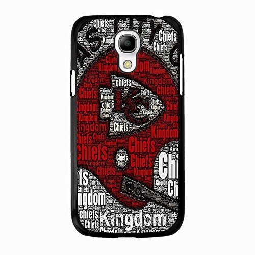 Customized Popular Design NFL Kansas City Chiefs Phone Case Cover for Coque Samsung Galaxy S4 Mini,Cas De Téléphone
