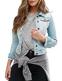 SS7 NEW Women's Denim Jacket, Stonewash Blue, Size 8 - 16