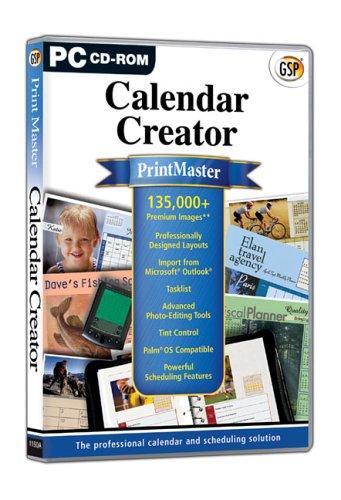 PrintMaster Calendar Creator (PC) (Creator-software Calendar)