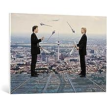 """Cuadro en lienzo: Andreas Feldtkeller """"Juggling Berlin"""" - Impresión artística de alta calidad, lienzo en bastidor, 100x70 cm"""