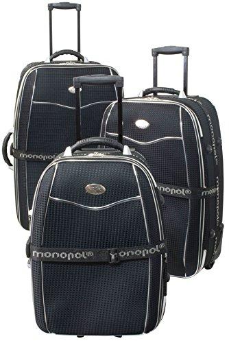 3tlg. Nylon-Kofferset Bali