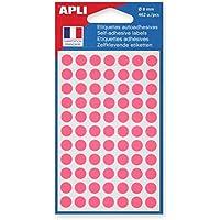 Agipa 111838Marcadores, diámetro: 8mm, redondo, color rosa