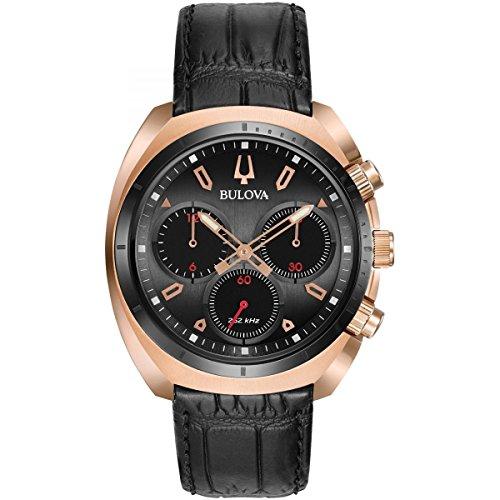 Bulova Herren-Armbanduhr Analog Quarz One Size, grau, - Grau Herren Uhr Bulova