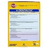 Pedigree Denta Stix Hunde-Zahn-Snack mittelgroße Hunde (10-25kg), Zahnpflege-Snack mit Huhn und Rind, 1 Packung je 56 Stück (1 x 1.44 kg) - 4