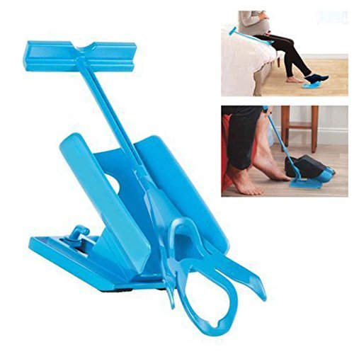 Chaussettes anziehhilfe capalta Fleurs Sock Slider Easy On Aid Helper léger sur facile en anziehen Enfiler et outils