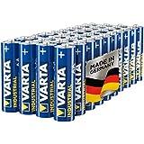 Varta Industrial Battery AA Mignon Alkaline Batteries LR6 - pack of 40, Made in Germany