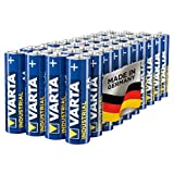 Varta Industrial Batterie AA Mignon Alkaline Batterien LR06, Made in Germany, 40er pack Bild