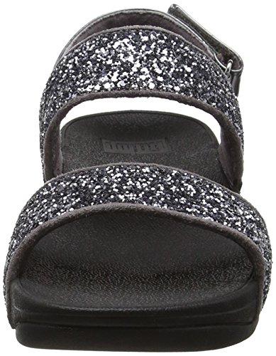 FitFlop Glitterball Sandal, Sandales à talon femme Gris étain