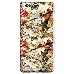 Bhishoom Designer Printed Back Case Cover for Xiaomi Redmi 3s Prime, Xiaomi Redmi 3 Plus (Rose Flowers Floral Drape Pattern )