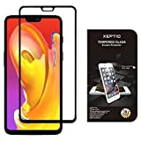 XEPTIO One Plus 6 Protection d'écran en verre trempé FULL cover noir - Tempered glass Screen protector/Films vitre smartphone OnePlus 6 2018 - Accessoires