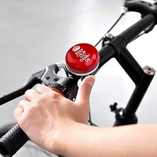 Preisvergleich Produktbild HC-Handel 917089 Fahrradklingel Fahrrad Klingel runde Fahrradglocke Retroklingel sortiert