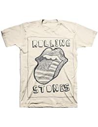 Rolling Stones - Sketch US Tongue T-Shirt