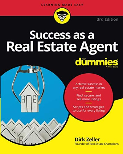 Success as a Real Estate Agent For Dummies, 3rd Edition (For Dummies (Business & Personal Finance))