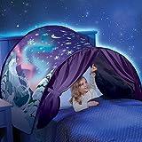 Tentes de rêve, nouvelles tentes populaires de rêve magique hiver Wonderland pliant enfants tente ciel tente fantaisie tente d'intérieur moustiquaires de lit cadeaux de Noël pour les enfants (B)